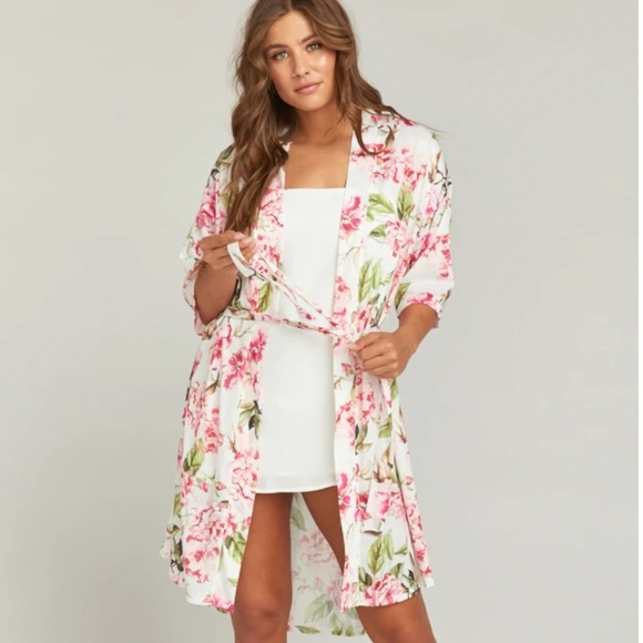 Show Me Your MuMu Other - Show Me Your Mumu Brie Robe Garden of Blooms OS